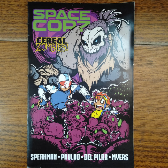 Space Copz Cereal Zombies!