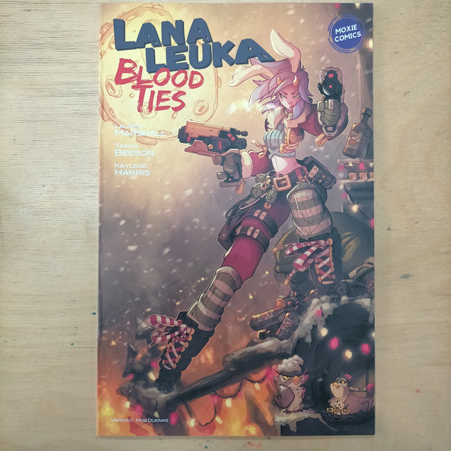 LANA LEUKA - BLOOD TIES ISSUE #001 (ROB DUENAS VARIANT)