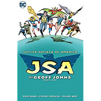 JSA BY GEOFF JOHNS TP BOOK 01