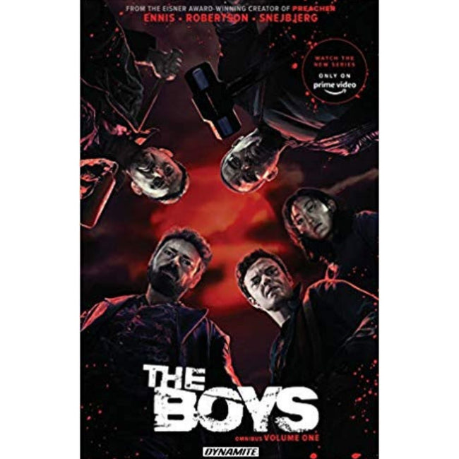 THE BOYS OMNIBUS TP VOL 01 PHOTO COVER - SIGNED GARTH ENNIS
