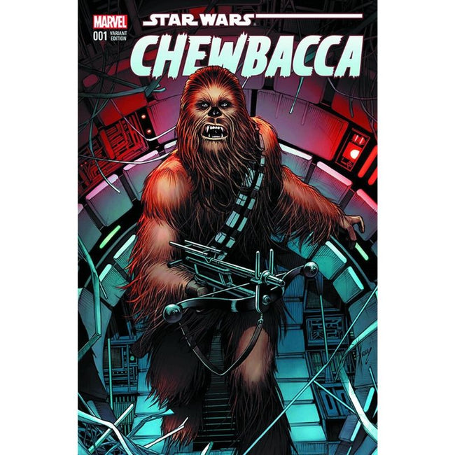 DF CHEWBACCA #1 AOD EXCLUSIVE SIGNED BY DALE KEOWN