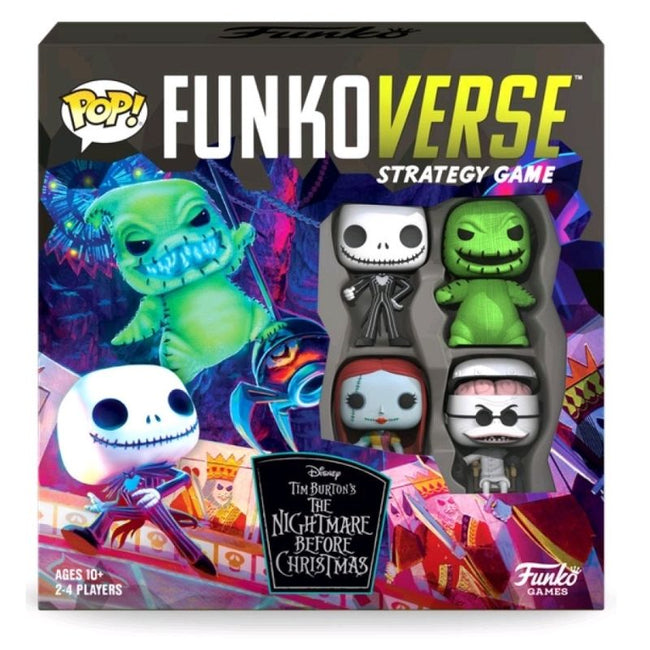 Funkoverse - The Nightmare Before Christmas 100 4-pack Board Game