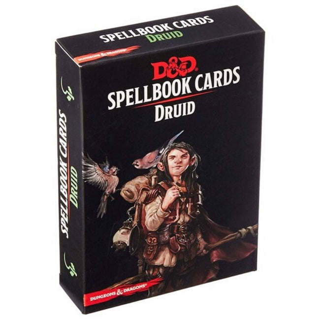 DUNGEONS AND DRAGONS - Spellbook Cards Druid Deck (131 Cards)