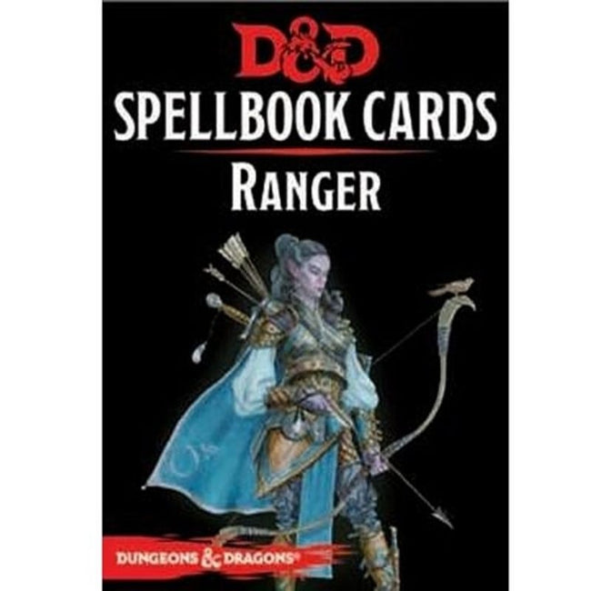 DUNGEONS AND DRAGONS - Spellbook Cards Ranger Deck (46 Cards)
