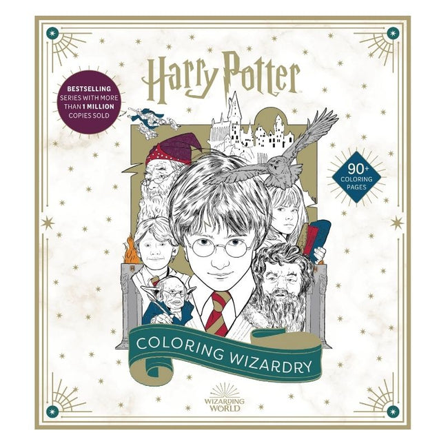 HARRY POTTER COLORING WIZARDRY SC