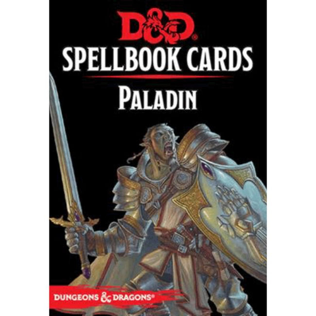 DUNGEONS AND DRAGONS - Spellbook Cards Paladin Deck (69 Cards)