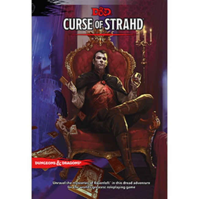 DUNGEONS AND DRAGONS - CURSE OF STRAHD