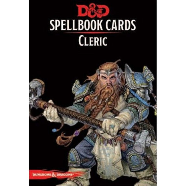 DUNGEONS AND DRAGONS - Spellbook Cards Cleric Deck (149 Cards)