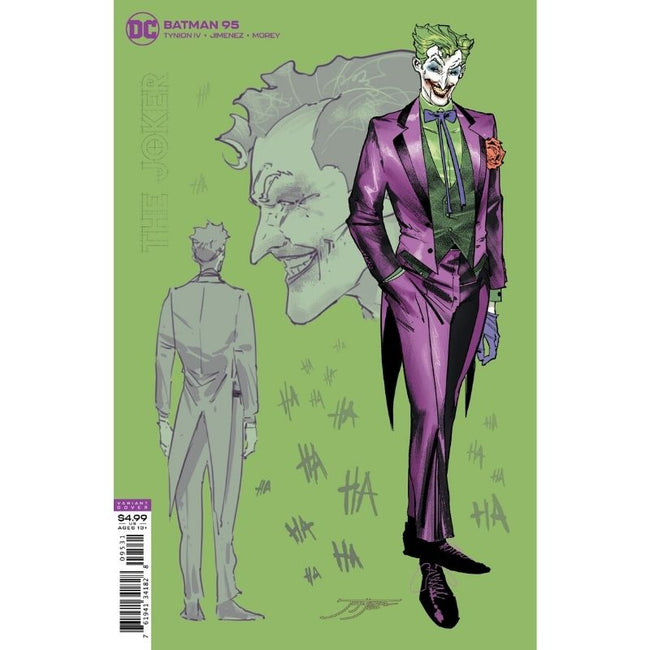 BATMAN #95 JOKER WAR 1:25 Variant