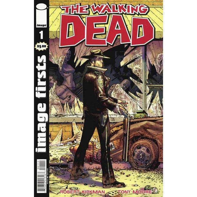 IMAGE FIRSTS THE WALKING DEAD #1