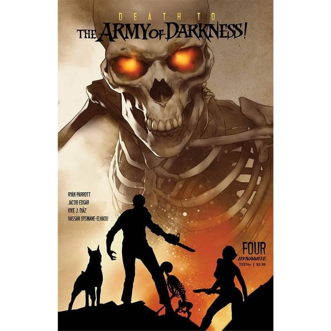 DEATH TO ARMY OF DARKNESS #4 CVR A OLIVER