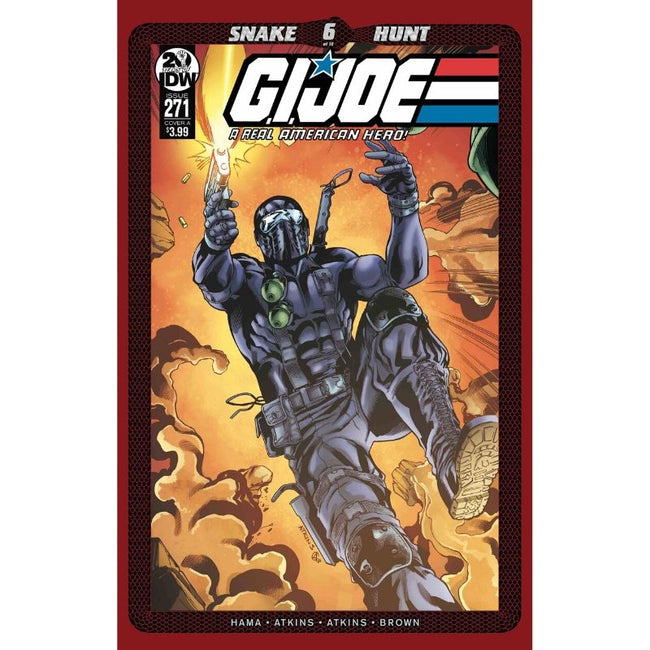 GI JOE A REAL AMERICAN HERO #271 CVR A ATKINS