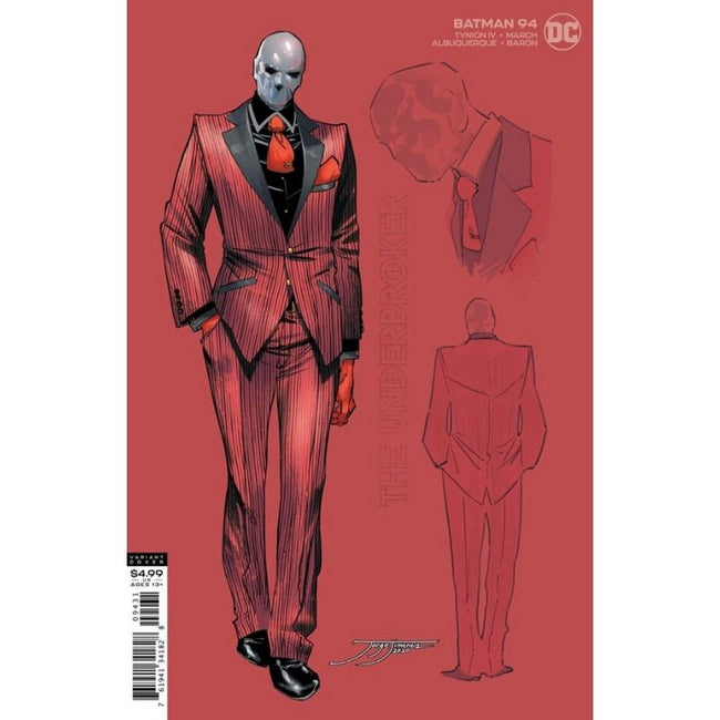 BATMAN #94 1:25 UNDERBROKER CARD STOCK VARIANT