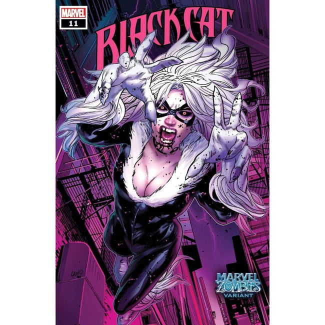 BLACK CAT #11 LAND MARVEL ZOMBIES VARIANT