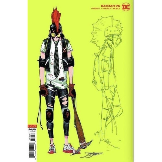 BATMAN #96 JOKER WAR 1:25 Variant