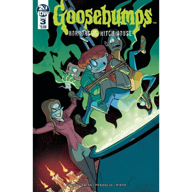 GOOSEBUMPS HORRORS OF THE WITCH HOUSE #3
