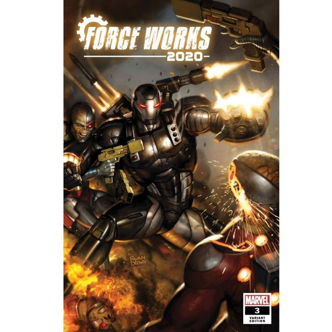 2020 FORCE WORKS #3 (OF 3) BROWN VAR
