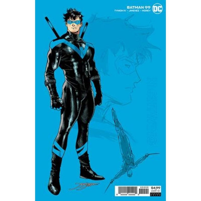 BATMAN #99 INC 1:25 JORGE JIMENEZ NIGHTWING CARD STOCK VAR (JOKER WAR)