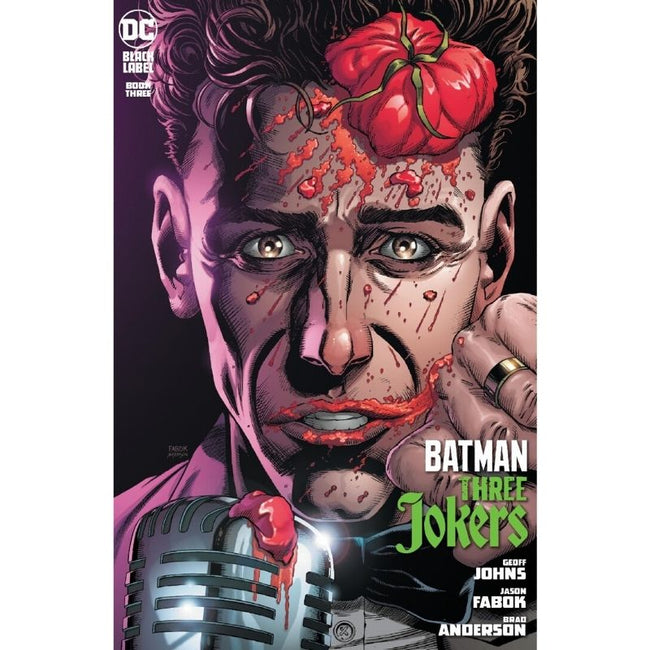 BATMAN THREE JOKERS #3 (OF 3) Premium Variant H (stand-up comedian)