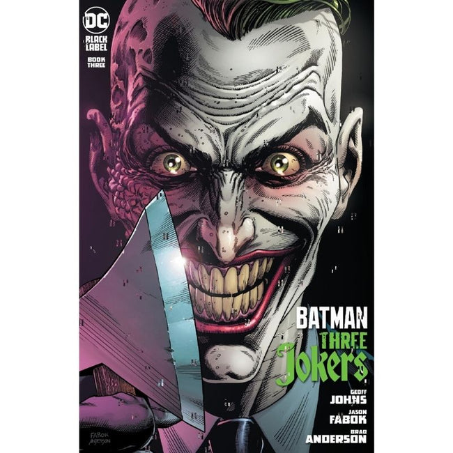 "BATMAN THREE JOKERS #3 (OF 3) Premium Variant I (""Endgame"" mohawk)"