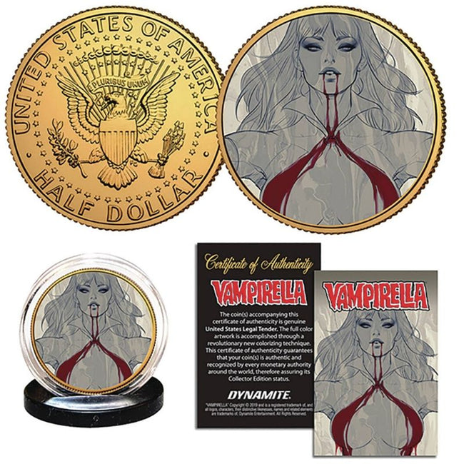 VAMPIRELLA LAU COLLECTIBLE COIN