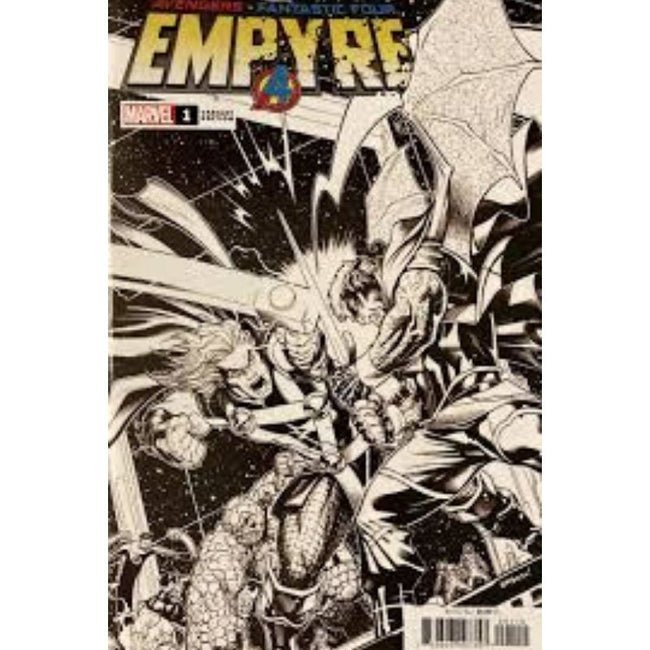 EMPYRE #1 (OF 6) MCGUINNESS LAUNCH SKETCH VAR