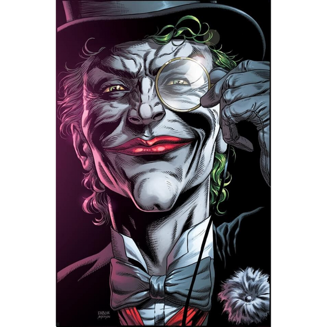 "BATMAN THREE JOKERS #2 (OF 3) Premium Variant E (""Death in the Family"" top hat and monocle)"