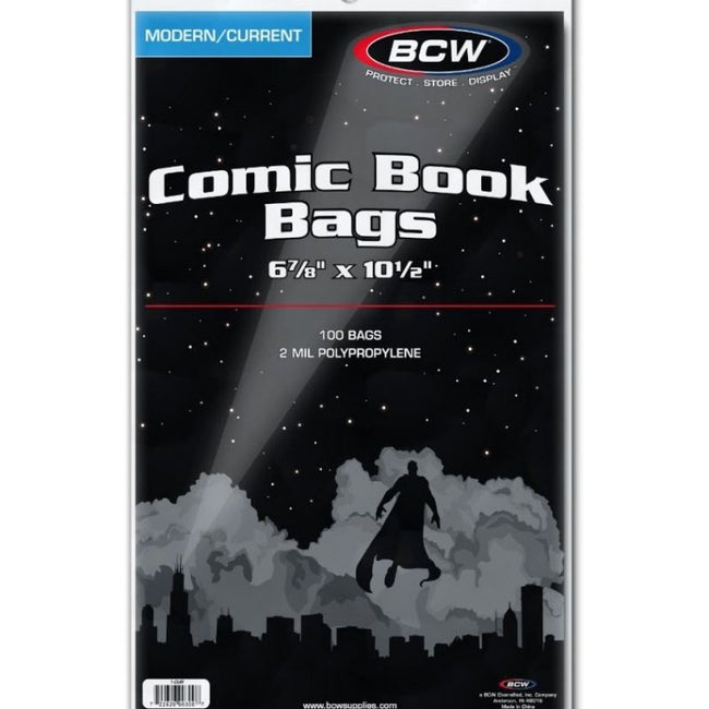 BCW CURRENT COMIC BOOK BAGS