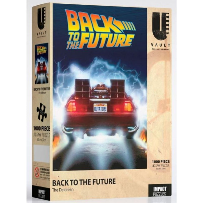 Back to the Future the Delorean Puzzle 1,000 pieces