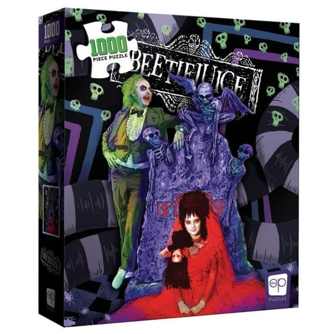 BEETLEJUICE GRAVEYARD WEDDING PUZZLE 1,000 PIECES