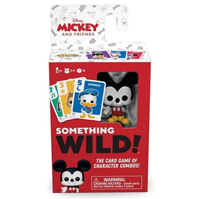 Mickey Mouse - Something Wild Card Game