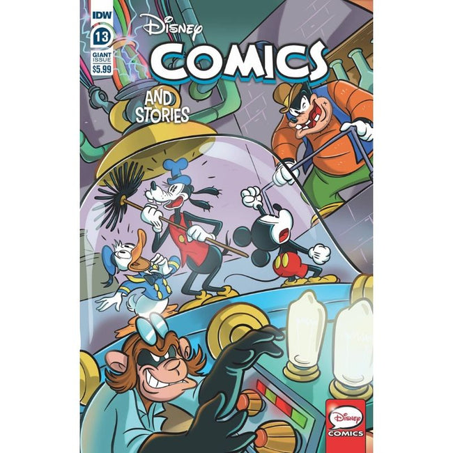 DISNEY COMICS AND STORIES #13 CVR A MAZZARELLO
