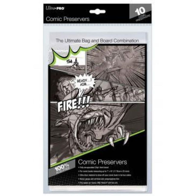 "ULTRA PRO Current Comic Preserver 7"" X 10"" - 10ct"