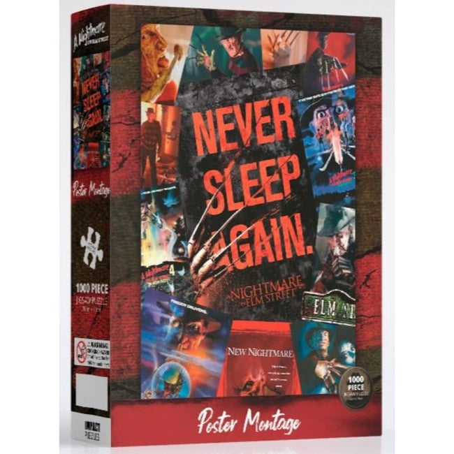 Nightmare On Elm Street Movie Art Puzzle 1,000 pieces