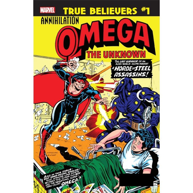 TRUE BELIEVERS ANNIHILATION OMEGA THE UNKNOWN  #1
