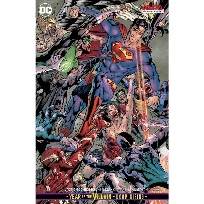 ACTION COMICS #1016 BRYAN HITCH DCEASED VARIANT