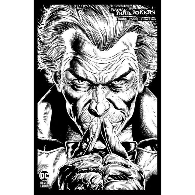 Batman Three Jokers #2 Jason Fabok B&W Sketch 1:100 Variant Cover