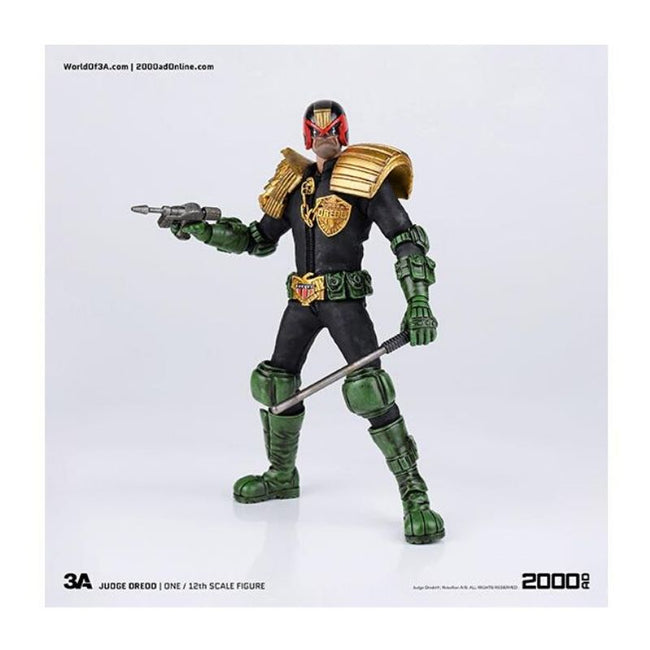 2000 AD Judge Dredd 1:12 Scale Action Figure