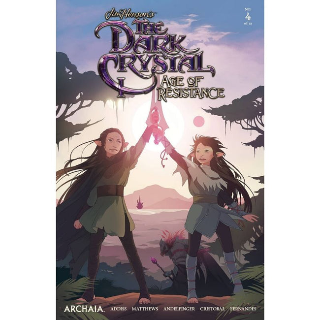 JIM HENSONS DARK CRYSTAL AGE OF RESISTANCE #4