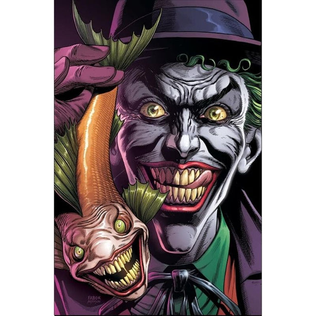 BATMAN THREE JOKERS #1 (OF 3) Premium Variant B (Joker fish)