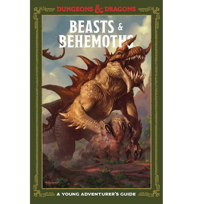 BEASTS & BEHEMOTHS YOUNG ADVENTURERS GUIDE D&D HC