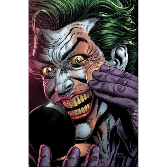 BATMAN THREE JOKERS #2 (OF 3) Premium Variant F (applying makeup)