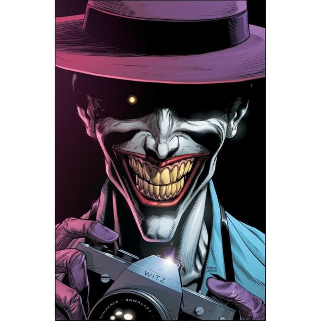 BATMAN THREE JOKERS #3 (OF 3) Premium Variant G (Killing Joke Hawaiian shirt and camera)