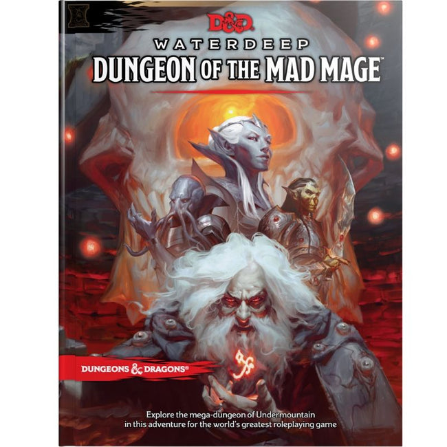 DUNGEONS AND DRAGONS - WATERDEEP DUNGEON OF THE MAD MAGE