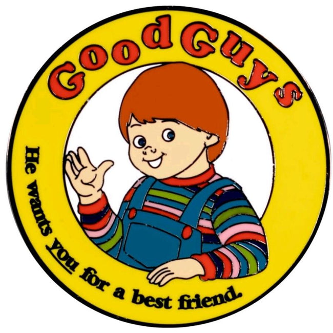 Child's Play - Good Guys Chucky Enamel Pin