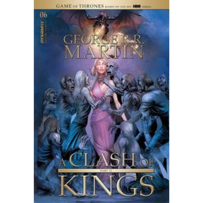 GEORGE RR MARTIN A CLASH OF KINGS #6 CVR A MILLER