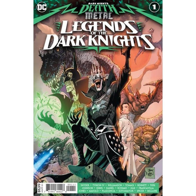 DARK NIGHTS DEATH METAL LEGENDS OF THE DARK KNIGHTS #1 ( LIMIT 1 PER CUSTOMER)