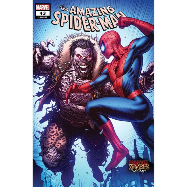 AMAZING SPIDER-MAN #43 KEOWN MARVEL ZOMBIES VAR