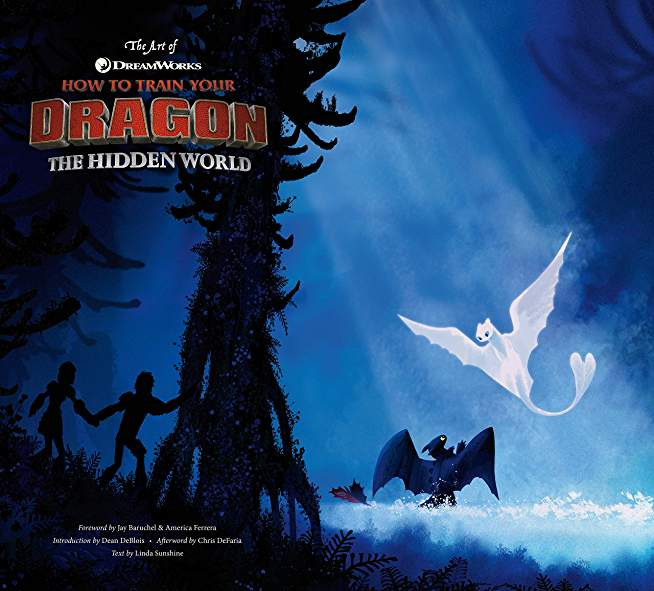 ART OF HOW TO TRAIN YOUR DRAGON HIDDEN WORLD HC
