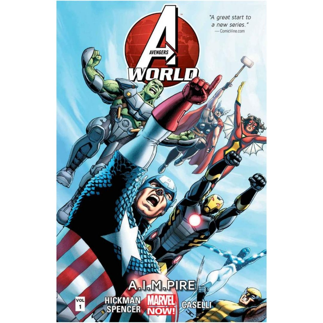 AVENGERS WORLD TP VOL 01 A.I.M. PIRE